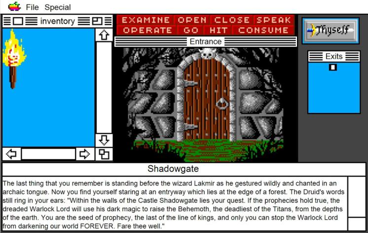 Screenshot 20 - Shadowgate: MacVenture Series