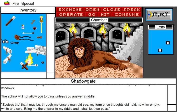 Screenshot 11 - Shadowgate: MacVenture Series