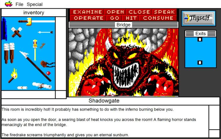Screenshot 5 - Shadowgate: MacVenture Series