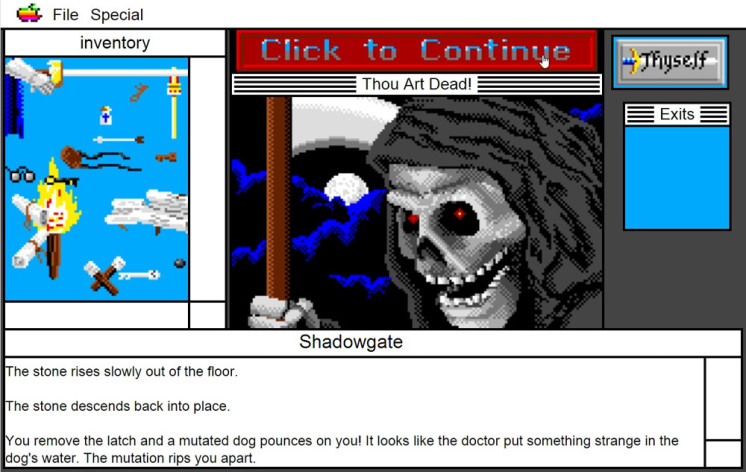 Screenshot 12 - Shadowgate: MacVenture Series