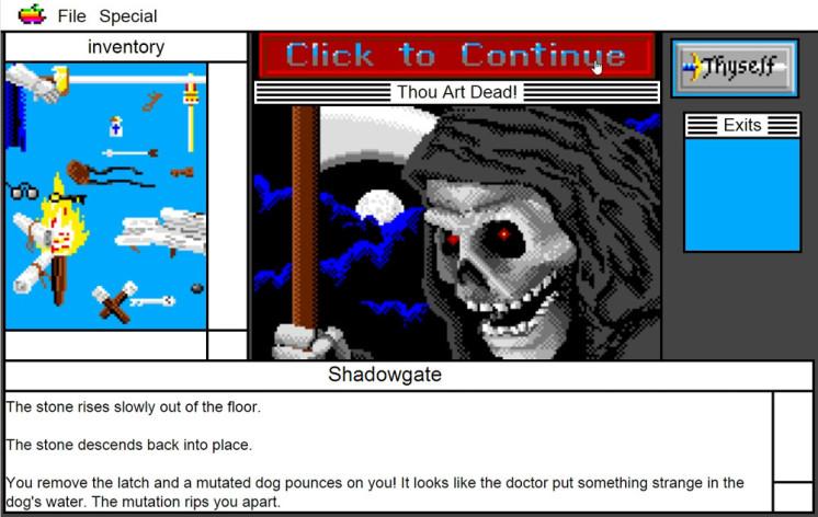 Screenshot 12 - Shadowgate: MacVenture Series
