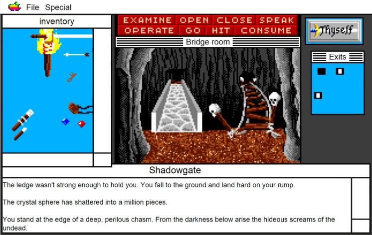Screenshot 14 - Shadowgate: MacVenture Series