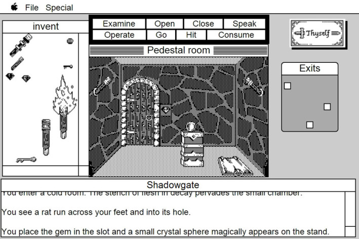 Screenshot 3 - Shadowgate: MacVenture Series