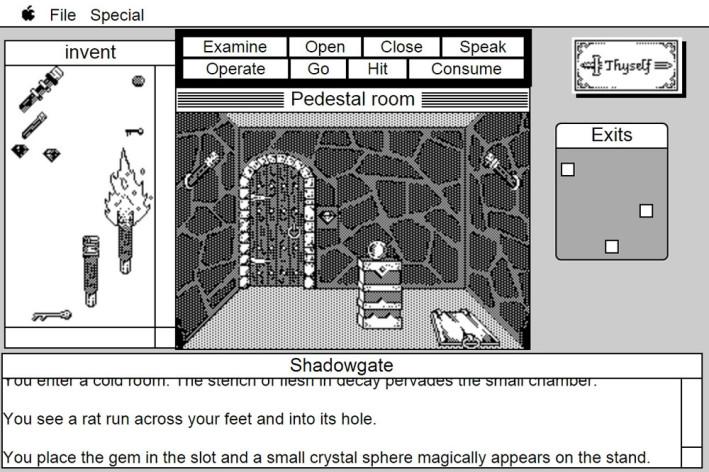 Screenshot 3 - Shadowgate: MacVenture Series