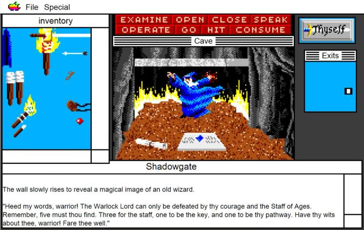 Screenshot 13 - Shadowgate: MacVenture Series