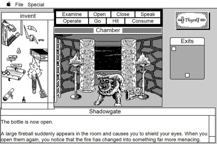 Screenshot 16 - Shadowgate: MacVenture Series