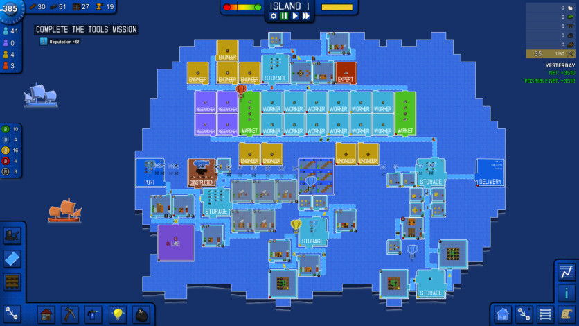 Screenshot 6 - Blueprint Tycoon
