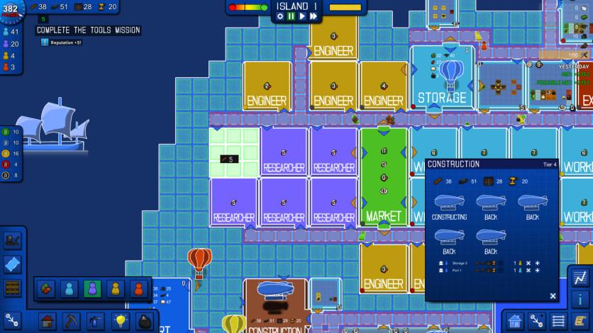 Screenshot 3 - Blueprint Tycoon