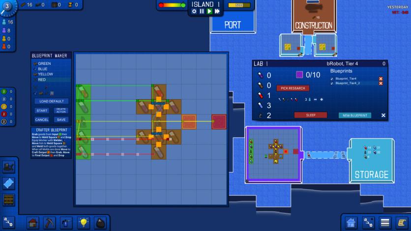 Screenshot 2 - Blueprint Tycoon
