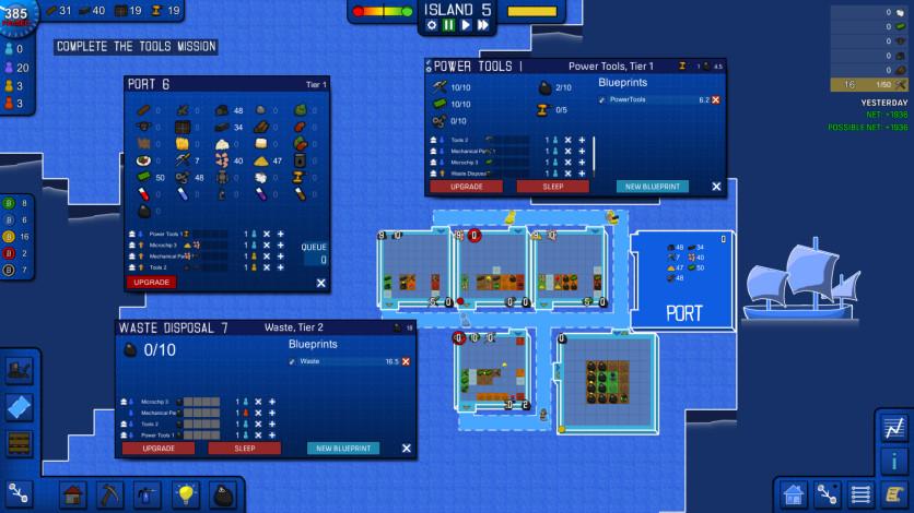 Screenshot 5 - Blueprint Tycoon