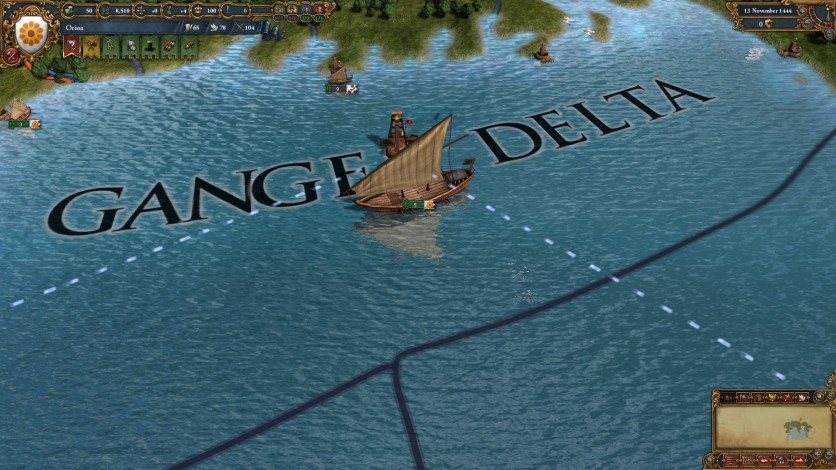Screenshot 9 - Europa Universalis IV: Indian Ships Unit Pack