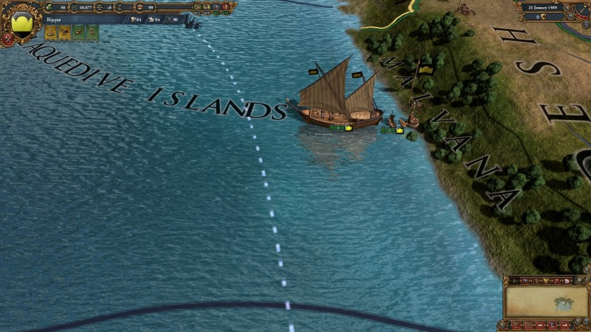 Screenshot 6 - Europa Universalis IV: Indian Ships Unit Pack