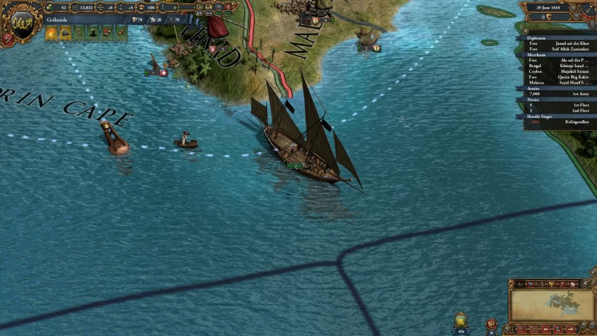 Screenshot 7 - Europa Universalis IV: Indian Ships Unit Pack