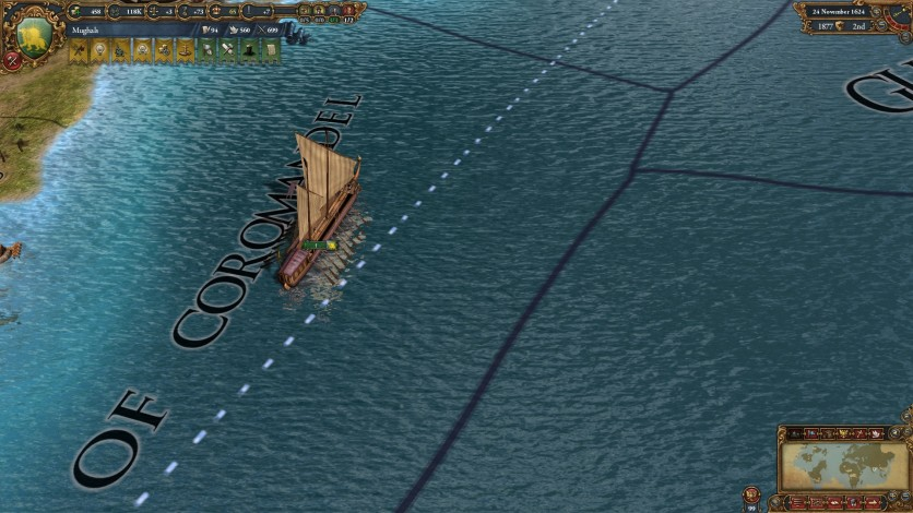 Screenshot 2 - Europa Universalis IV: Indian Ships Unit Pack