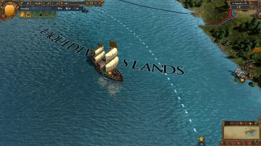 Screenshot 8 - Europa Universalis IV: Indian Ships Unit Pack