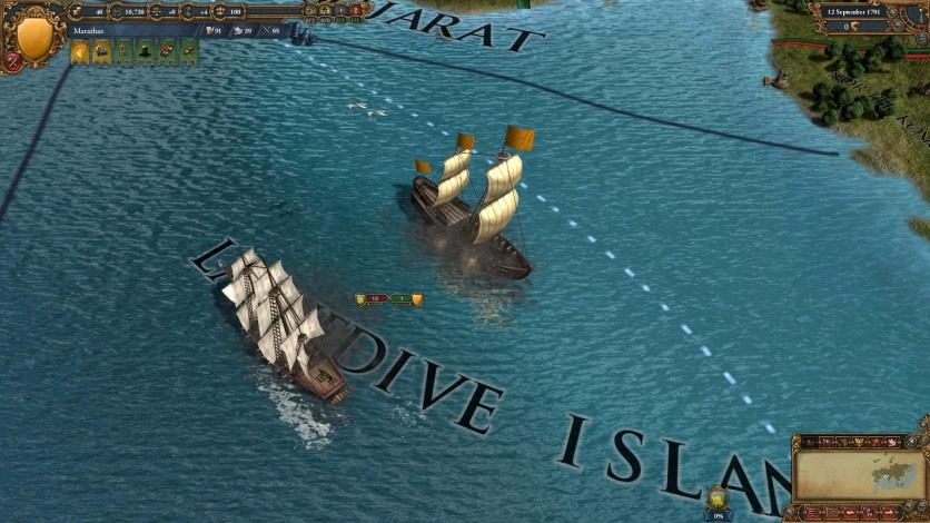 Screenshot 5 - Europa Universalis IV: Indian Ships Unit Pack