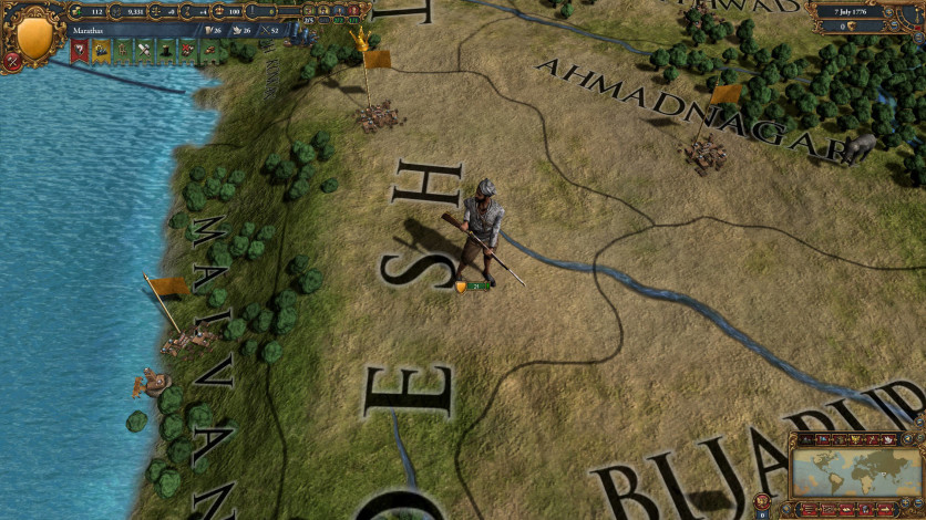 Screenshot 2 - Europa Universalis IV: Indian Subcontinent Unit Pack