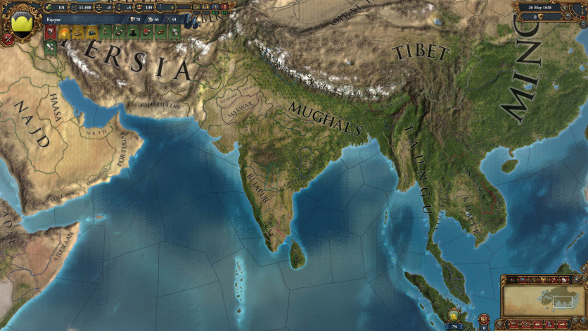 Screenshot 4 - Europa Universalis IV: Indian Subcontinent Unit Pack