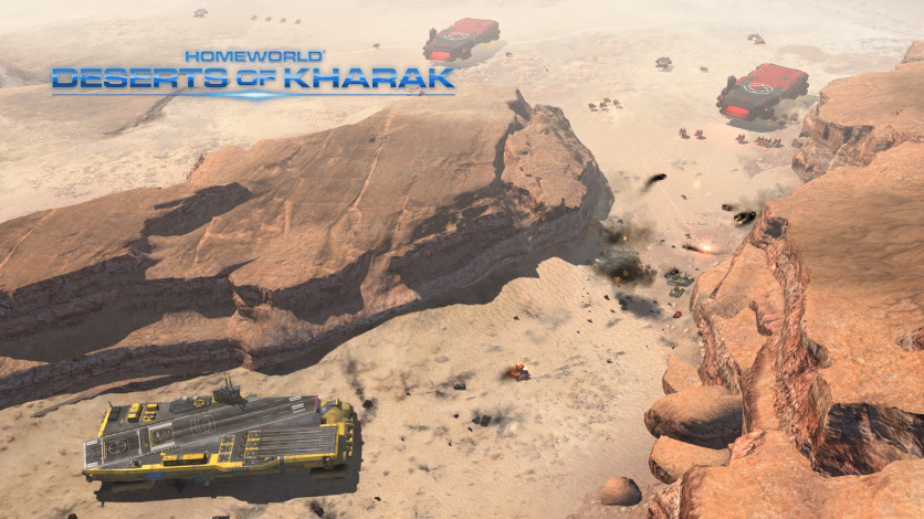 Screenshot 8 - Homeworld: Deserts of Kharak