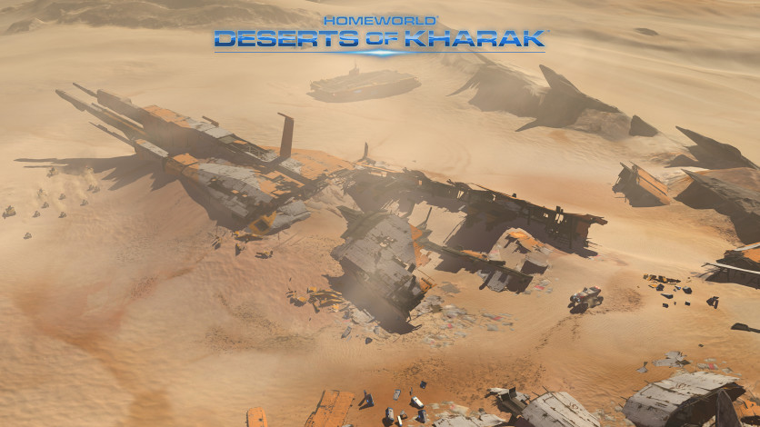 Screenshot 3 - Homeworld: Deserts of Kharak