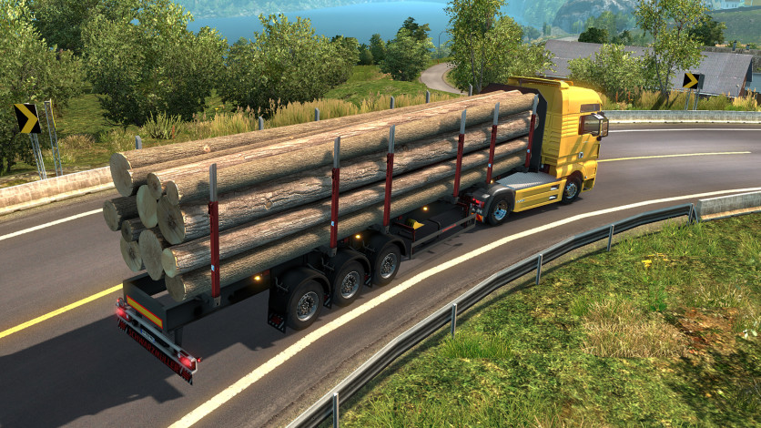 Screenshot 10 - Euro Truck Simulator 2 - Schwarzmüller Trailer Pack