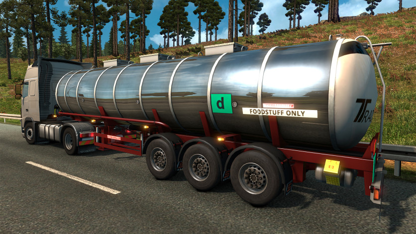 Screenshot 8 - Euro Truck Simulator 2 - Schwarzmüller Trailer Pack