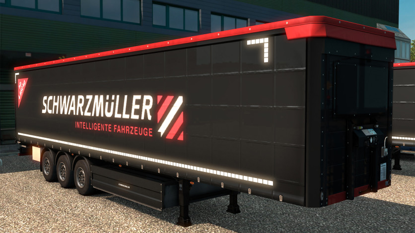 Screenshot 1 - Euro Truck Simulator 2 - Schwarzmüller Trailer Pack