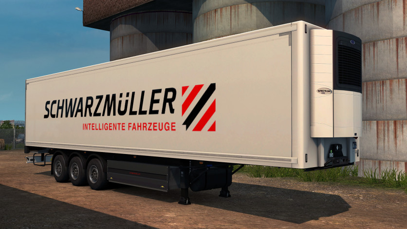 Screenshot 2 - Euro Truck Simulator 2 - Schwarzmüller Trailer Pack