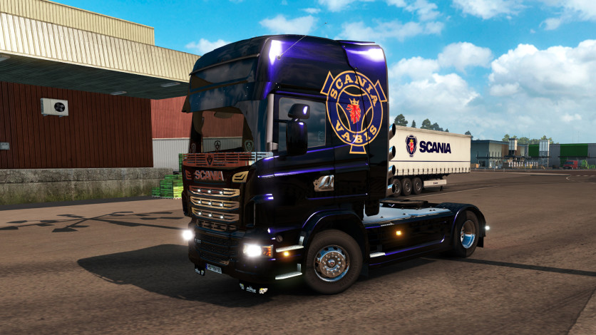 Screenshot 4 - Euro Truck Simulator 2 - Mighty Griffin Tuning Pack