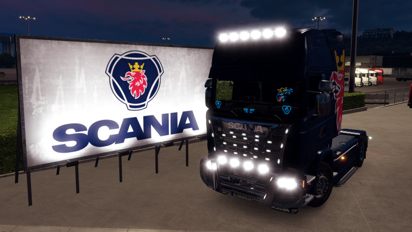 Screenshot 10 - Euro Truck Simulator 2 - Mighty Griffin Tuning Pack
