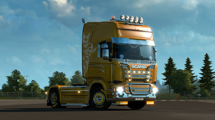 Screenshot 17 - Euro Truck Simulator 2 - Mighty Griffin Tuning Pack
