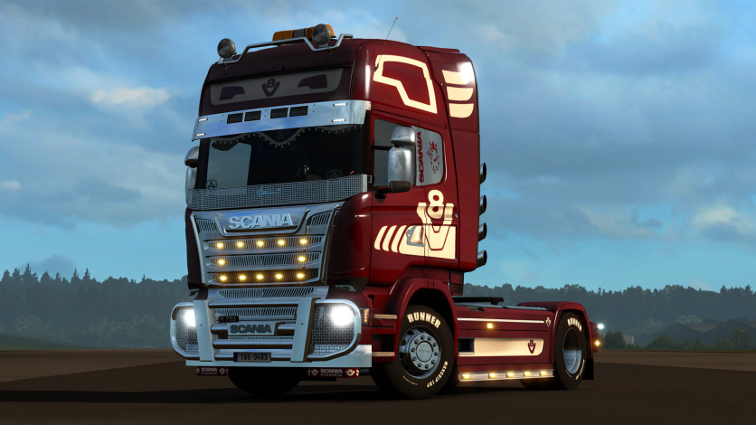Screenshot 11 - Euro Truck Simulator 2 - Mighty Griffin Tuning Pack