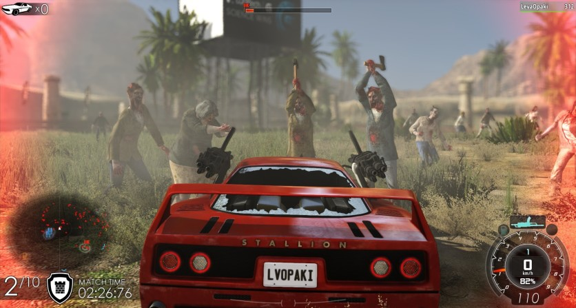 Screenshot 2 - Gas Guzzlers Extreme: Full Metal Zombie