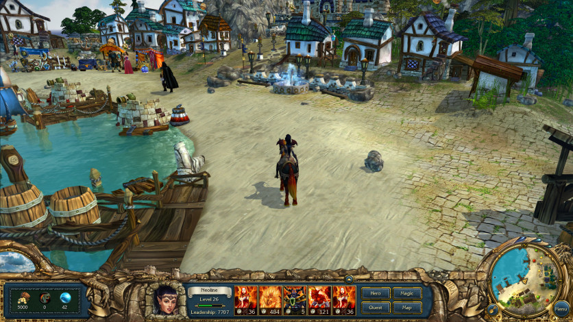 Screenshot 1 - King's Bounty: Dark Side Premium Edition Upgrade