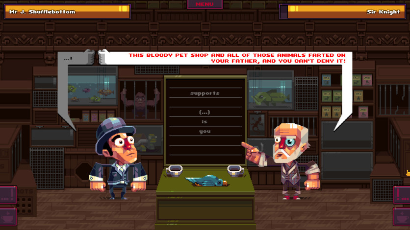 Screenshot 4 - Oh...Sir!! The Insult Simulator