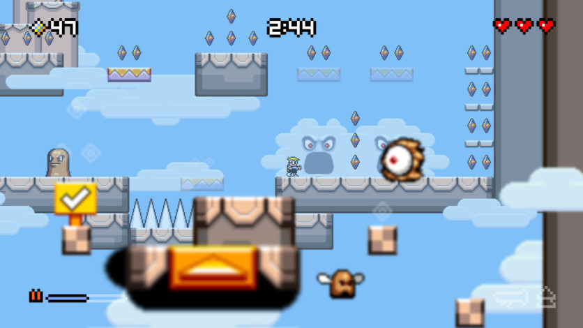 Screenshot 3 - Mutant Mudds Deluxe