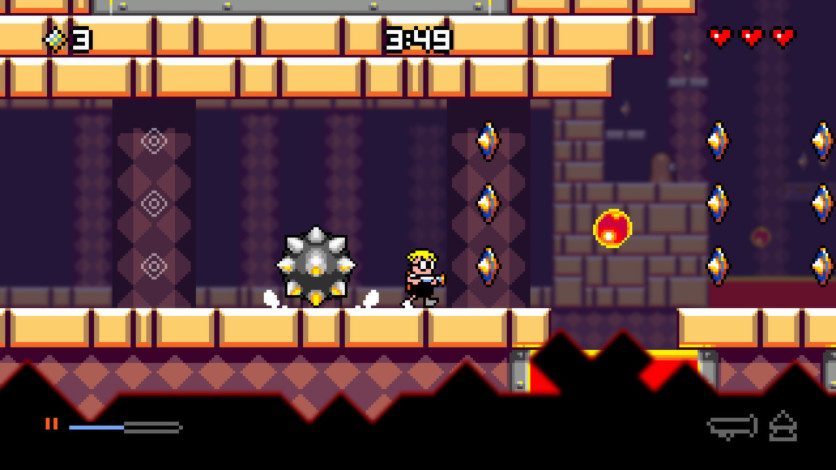 Screenshot 4 - Mutant Mudds Deluxe