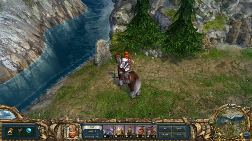 Screenshot 5 - King's Bounty: Warriors of the North Valhalla Edition Upgrade