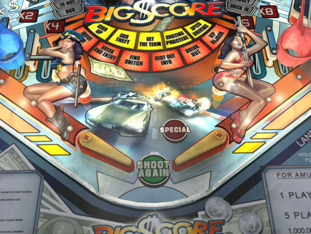 Screenshot 9 - SlamIt Pinball Big Score