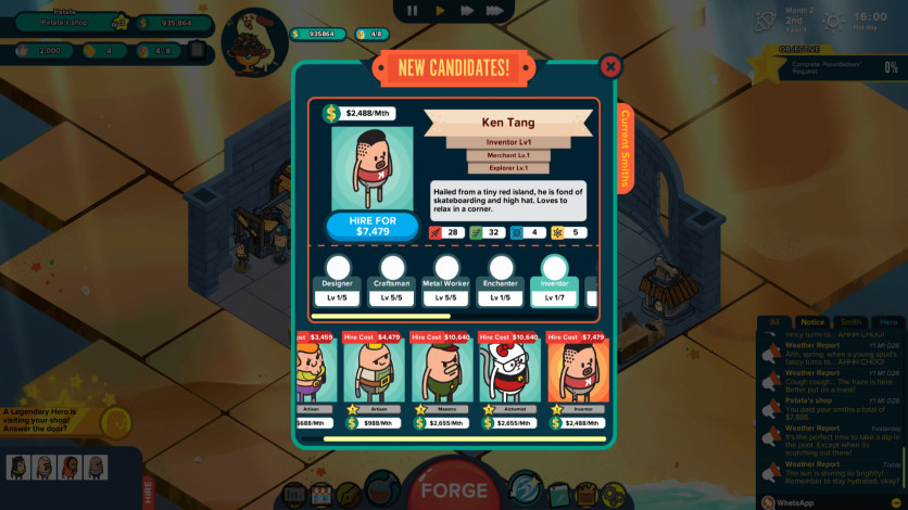 Screenshot 10 - Holy Potatoes! A Weapon Shop?! - DLC Bundle