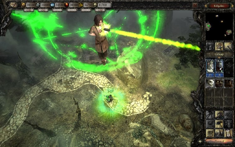 Screenshot 2 - Disciples III - Resurrection