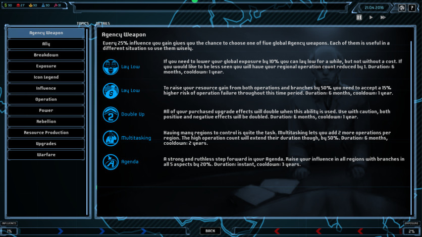 Screenshot 2 - Agenda