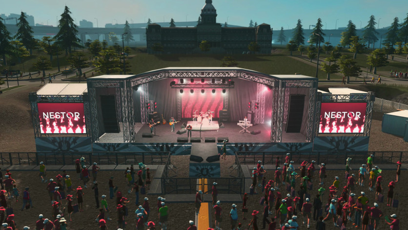 Screenshot 3 - Cities: Skylines - Concerts