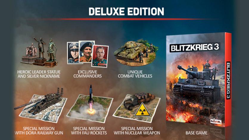 Screenshot 1 - Blitzkrieg 3 - Digital Deluxe Edition Upgrade