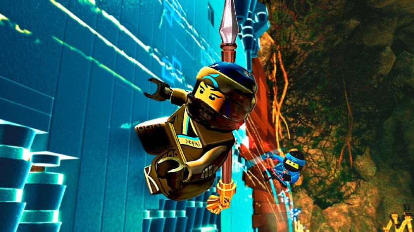 Screenshot 3 - The LEGO Ninjago Movie Video Game.