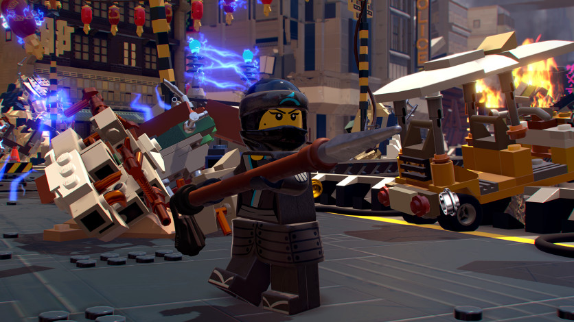 Screenshot 6 - The LEGO Ninjago Movie Video Game.