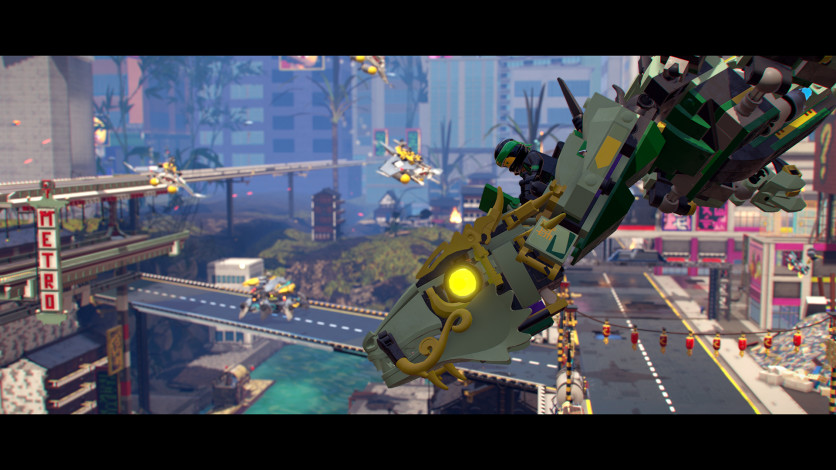 Screenshot 7 - The LEGO Ninjago Movie Video Game.