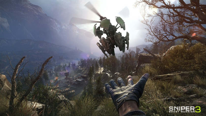 Screenshot 5 - Sniper Ghost Warrior 3 - Sniper Rifle McMillan TAC-338A