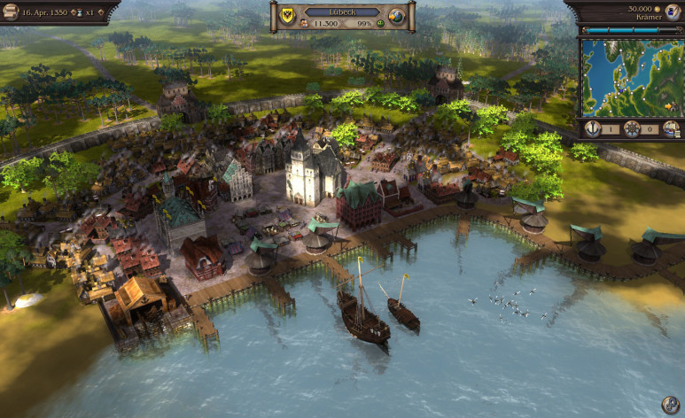 Screenshot 3 - Port Royale 3 Gold and Patrician IV Gold - Double Pack