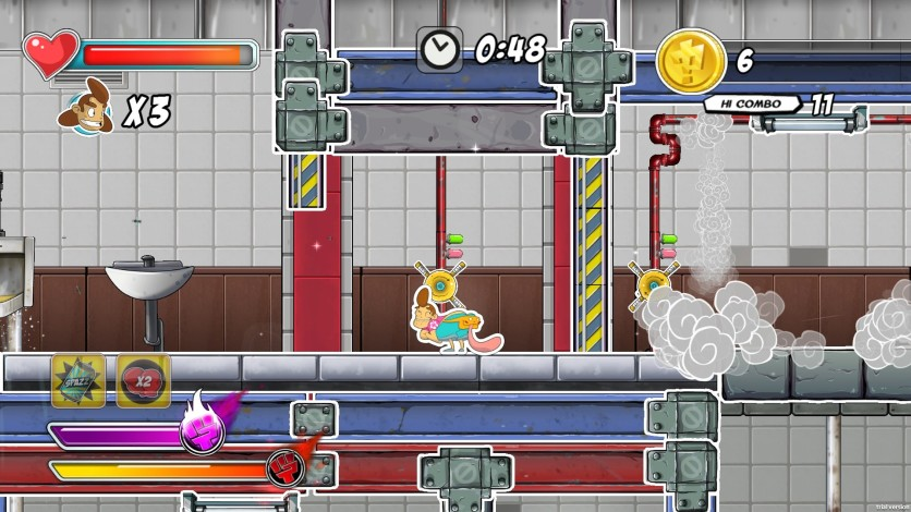 Screenshot 3 - Super ComboMan: Smash Edition
